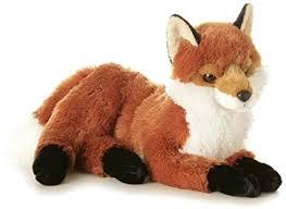 plush life like fox