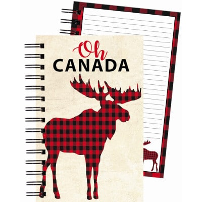 buffalo checked moose with Oh Canada on Journal cover
