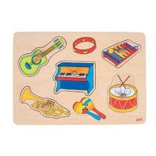 pullout puzzle pieces with musical sounds