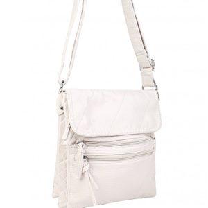 crossbody white purse