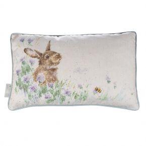 wrendale cushion bunny