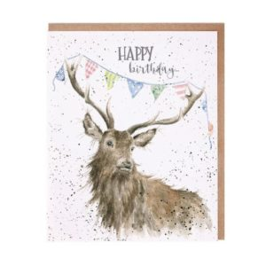 wrendale card stag