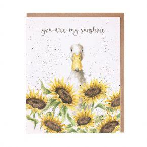wrendale card sunshine