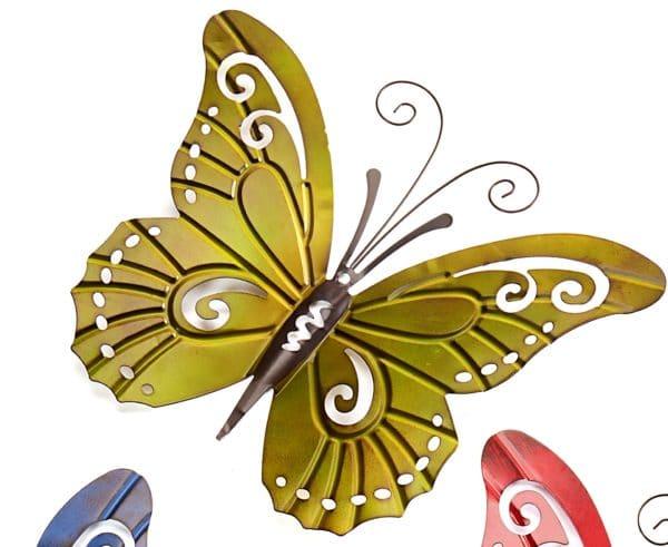 Golden Metal Butterfly