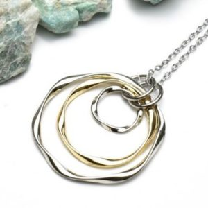 Ladys Charm Circle Necklace