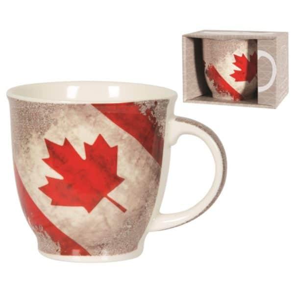 pineridge canada flag mug