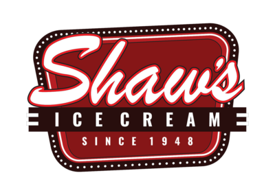 shaws ice cream logo