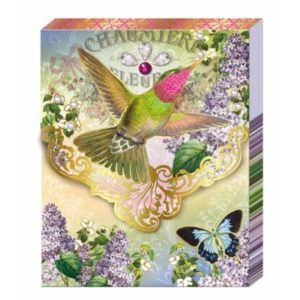 Purse Notebook - Hummingbird