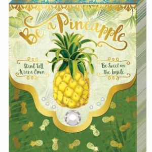 Purse Notebook - Be a Pineapple