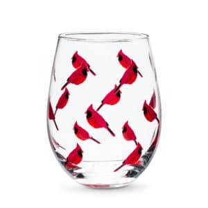 stemless cardinal goblet