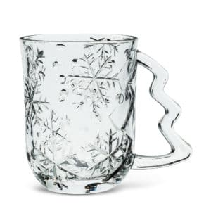 Embossed Snowflake Mug