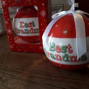 Best Grandma Sparkling Ornament